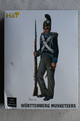 HaT 1/32 HAT9309 Wuttemberg Musketeers (Napoleonic)